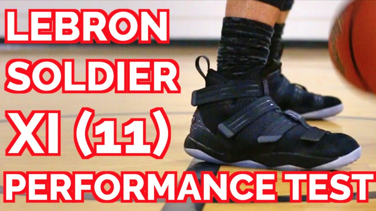 new product 779fb 9a011 NIKE LEBRON SOLDIER 11 PERFORMANCE TEST/REVIEW