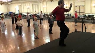 DANCING HEART Samba Line Dance (Tutorial  & Demo by Choreographer Ira Weisburd.m2ts