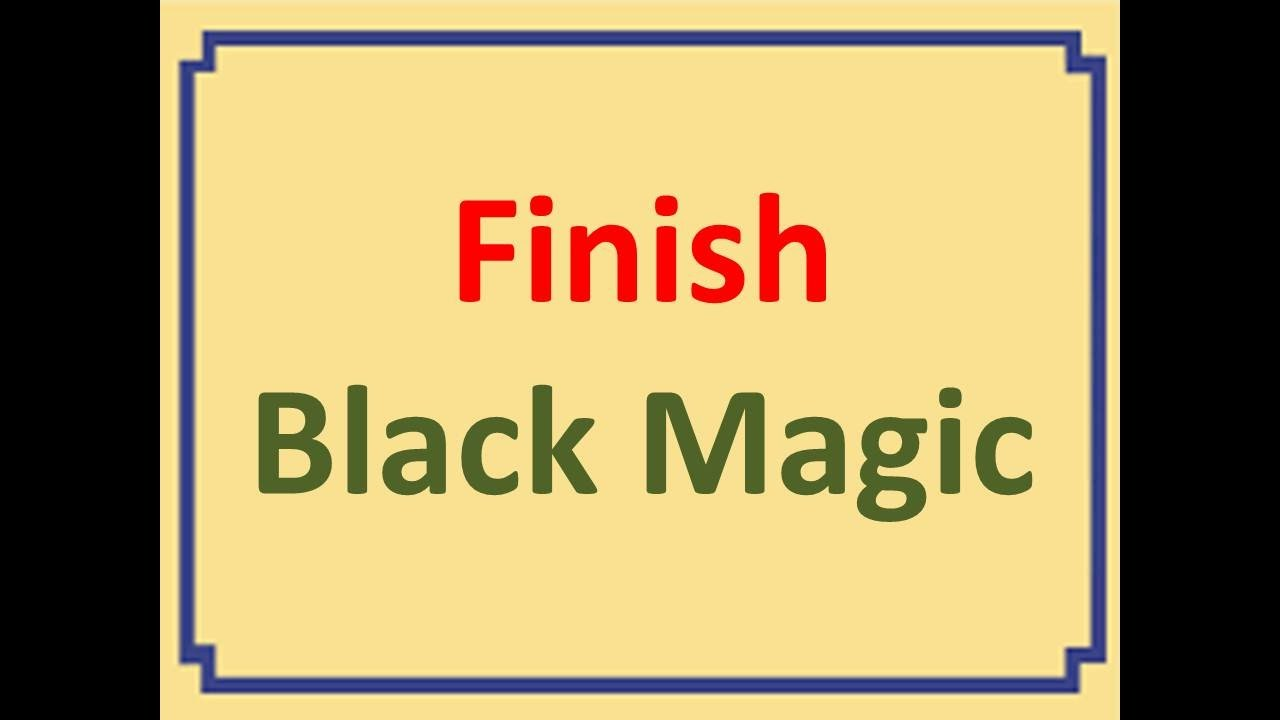 Perfect method to remove black magic !! Ranked 1 and used by many Baba's,  pandit