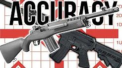 Accuracy: A Cheap AR15 versus the Mini-14