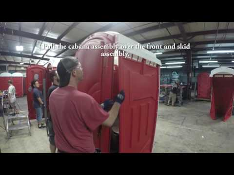 Axxis Portable Restroom Assembly Guide