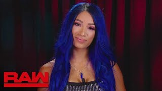 Sasha Banks gives her first interview after shocking return: Raw, Aug. 19, 2019