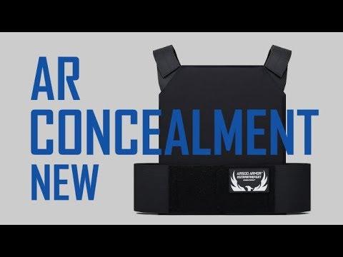 NEW!  AR Concealment Plate Carrier!   AR500 Armor