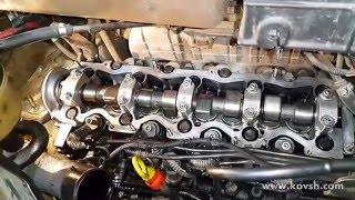 К чему приводят увеличенные зазоры клапанов на двигателях Fiat 2.8D