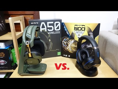 Astro A50 Halo Edition vs Turtle Beach Elite 800