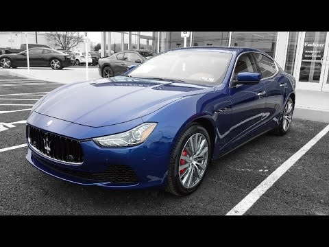 2016 Maserati Ghibli S Q4 Review
