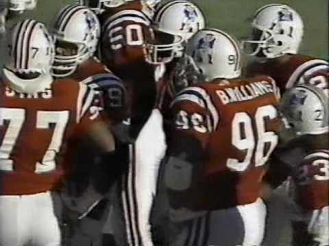 1989 Bills at Patriots