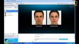 Chatten met Skype