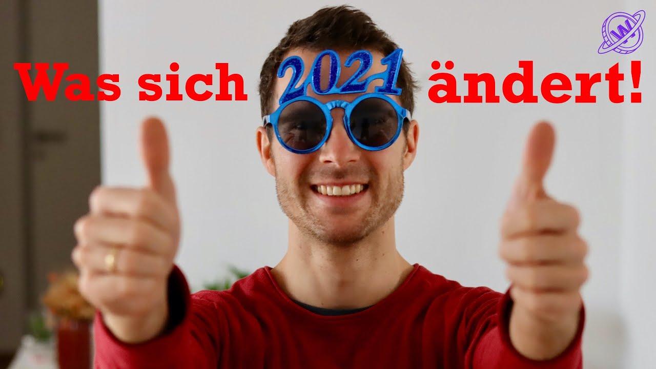 Was ändert sich 2021 in Deutschland?