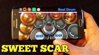 SWEET SCAR - WEIRD GENIUS | REAL DRUM COVER