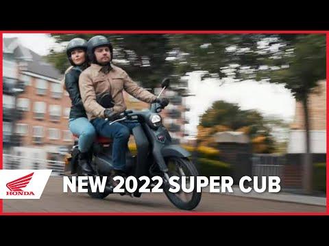 New 2022 Honda Super Cub