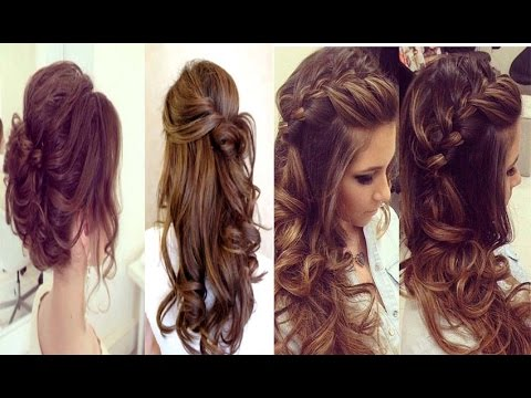Prom hairstyles ❤ Wedding updo with braids ❤ Bridal long hair tutorial | Art and Entertainment