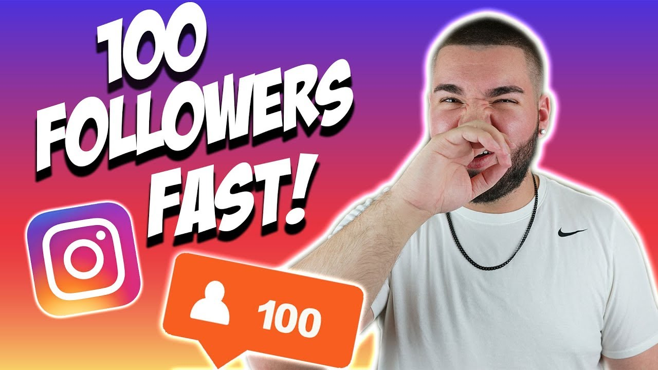 get 100 free instagram followers fast