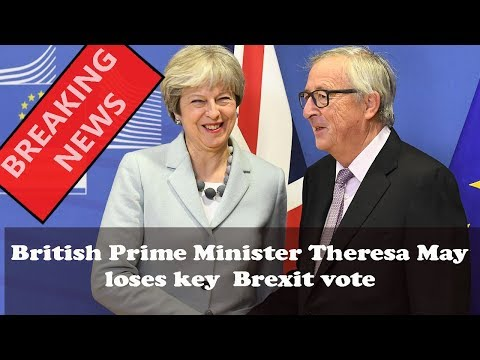 British Prime Minister Theresa May loses key  Brexit vote || World News Radio