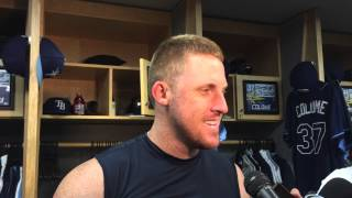 Rays Allan Dykstra All Smiles After First Big League Homer