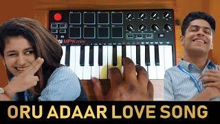 Oru Adaar Love   Aarum Kaanaathinnen song Cover By Raj Bharath   #Priya Varrier  #noorin_sheriff