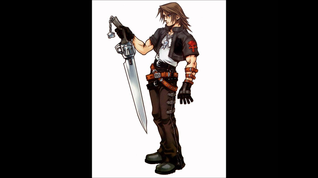 "David Boreanaz as Squall ""Leon"" Leonhart in Kingdom Hearts ...