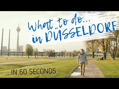 What to do in DÜSSELDORF in 60 seconds