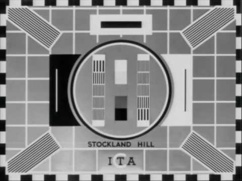 Stockland Hill, Test Card 'C'  - ITA Westward Television