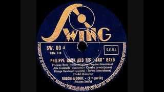 Django Reinhardt & Philippe Brun - Boogie-woogie (1) - 1940 February 22 - Swing, Paris