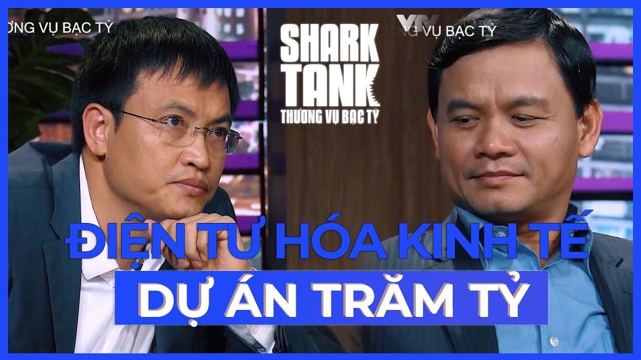 Dự Án Trăm Tỷ Điện Tư Hóa Kinh Tế Việt Đi Gọi Vốn | @Shark Tank Vietnam Sub CHIẾU LẠI!!!