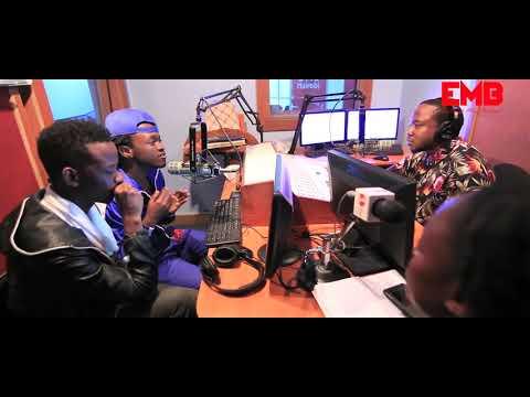 BAHATI & DAVID WONDER - Ndogo Ndogo Media Tour ( One fm Kenya ) Part 1