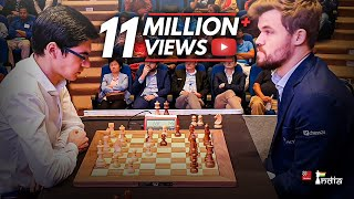 What happened when Anish Giri offered a draw to Magnus Carlsen on move 4!