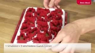 Tipps & Tricks: Guetzli-Schablone «Profi» Thumbnail
