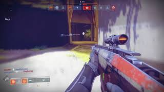 Stream Highlights #1 - Destiny 2 Sniper Collateral