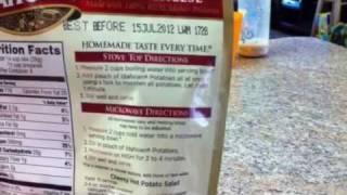 Fast Hiking Food - Idahoan Mashed Potatoes