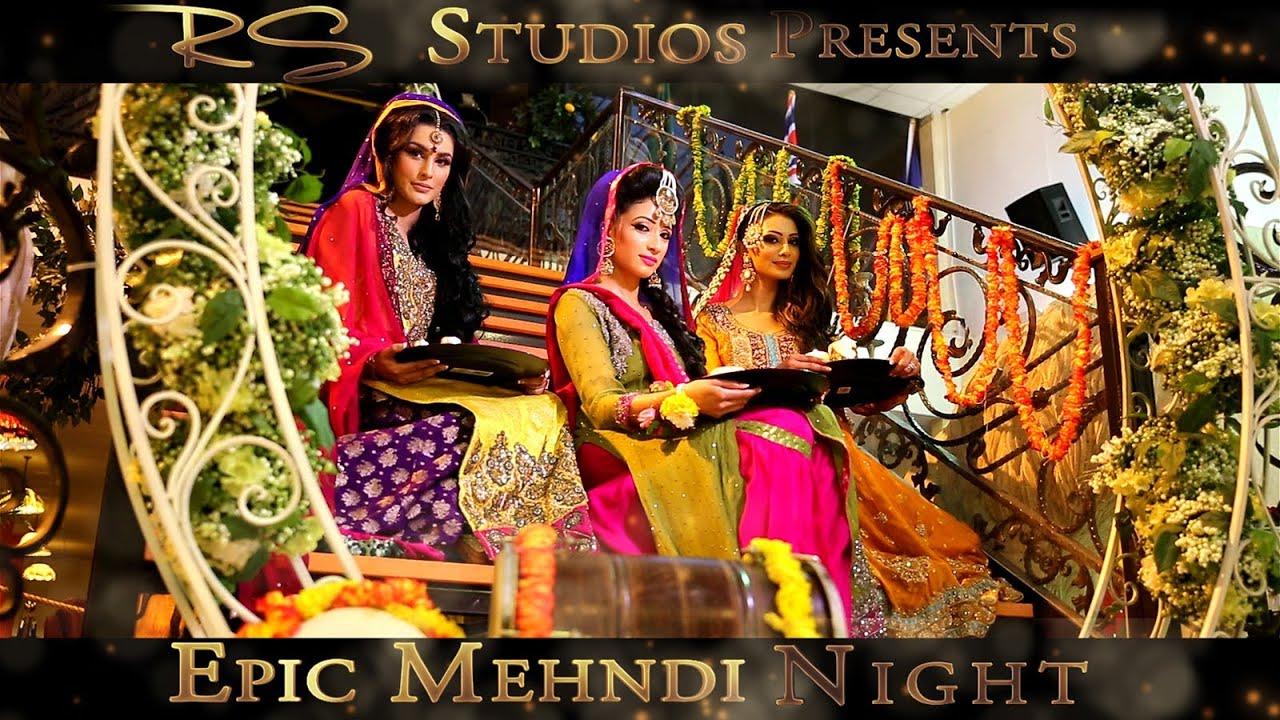 Mehndi Night Makeup : Epic mehndi night teaser rs studios youtube