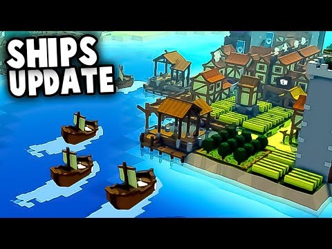 NEW Island Kingdom and ROYAL NAVY!  New Ships & Ports Update (Kingdoms and Castles New Update Ep1