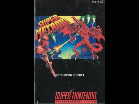 super metroid retro snes instruction booklet youtube rh youtube com Zoop SNES Zoop SNES