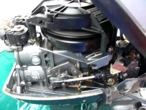 Mariner 15hp Outboard 2stroke  YouTube