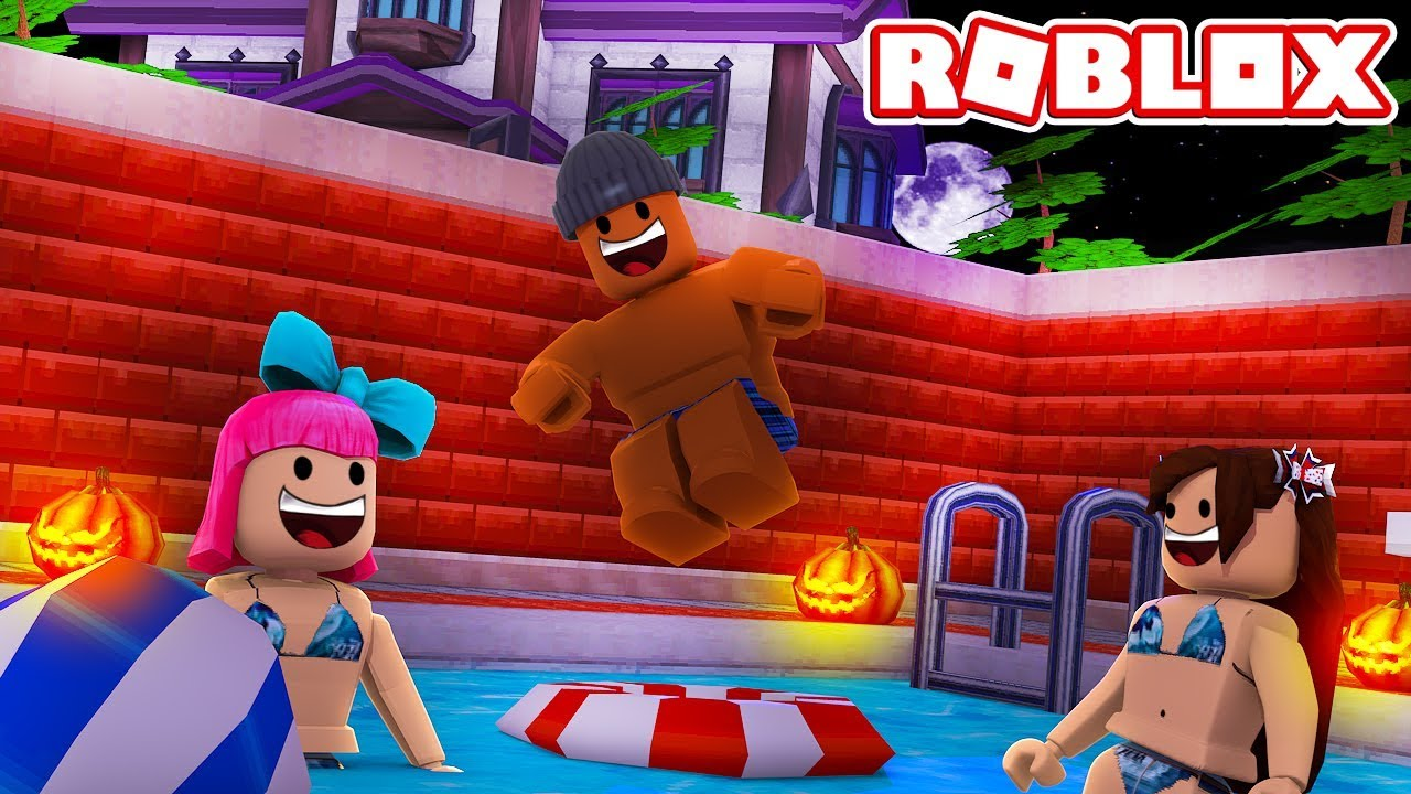 Roblox halloween pool party youtube - How to make a pool party ...