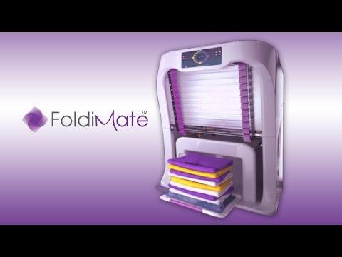 FoldiMate la mquina que dobla la ropa por ti  Plegadora
