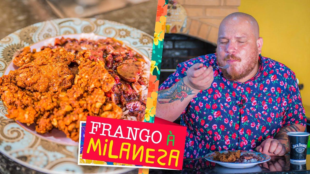 Frango à Milanesa (receita para vender no seu negócio) - Cansei de ser chef