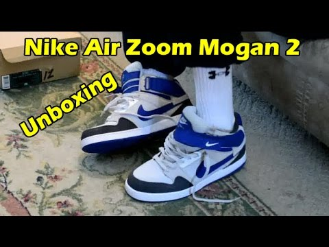 best cheap e6a6c 01b5c Nike Air Zoom Mogan Mid 2 Unboxing - On Foot