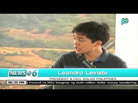 [News@6] Inagurasyon ng pinakamalaking solar farm sa Luzon, pinangnahan ni PNoy [03|16|16]