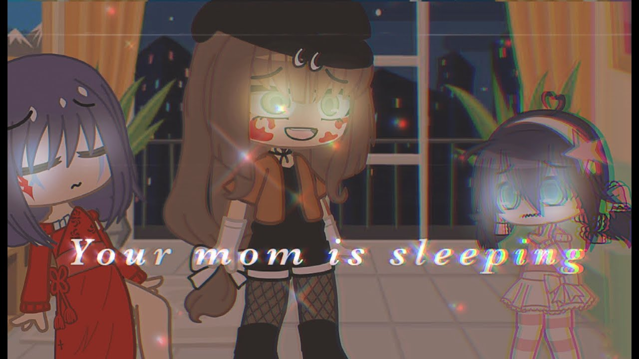 ❝ Your Mom Is Sleeping MLB meme // Gacha Club Life Miraculous Ladybug // Inspo: @Miraculous Stella