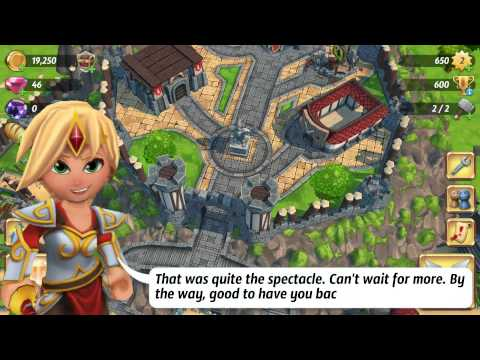 Royal Revolt 2 ( By Flaregames ) - Android Gameplay