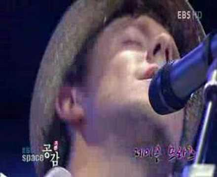 "Jason Mraz - ""I´m yours"" Live at EBS Space"