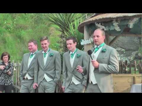 Neil's Wedding Speech followed by the Best Men