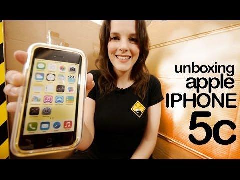 Apple iPhone 5c unboxing