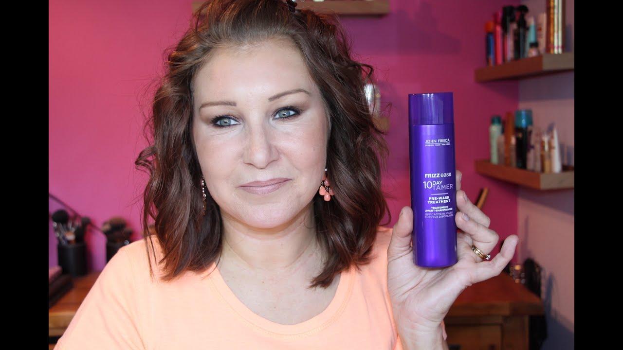 Hair dye day ! John Frieda 4N dark natural brown. - YouTube