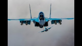 Intensive tests of the latest Russian fighter MiG-35 with laser weapons