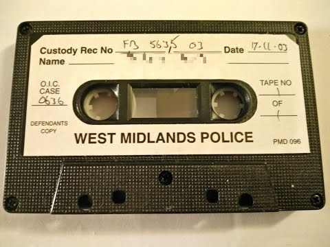 Funniest West Midlands Police Interview Ever? Foam Board?