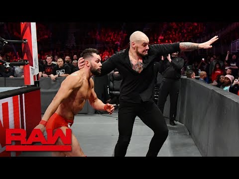 Finn Bálor vs. Baron Corbin & Drew McIntyre - 1-on-2 Handicap Match: Raw, Nov. 26, 2018