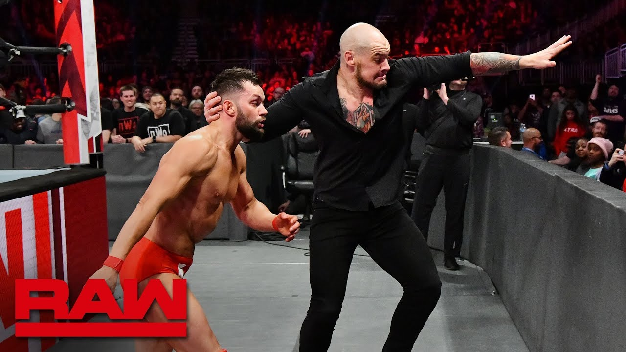 Finn Bálor vs. Baron Corbin & Drew McIntyre - 1-on-2 Handicap Match: Raw, Nov. 26, 2018