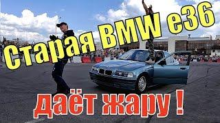 BMW e36 на ДВУХ КОЛЕСАХ. ШОУ АВТО-МОТО-КАСКАДЕРОВ на BREST BIKE FEST 2019. БАЙК ФЕСТ БРЕСТ 2019
